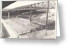 West Bromwich Albion - The Hawthorns - Brummie Road End 1 - Bw - 1960s Greeting Card