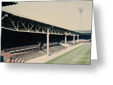 West Bromwich Albion - The Hawthorns - Halfords Lane West Stand 1 - 1970s Greeting Card