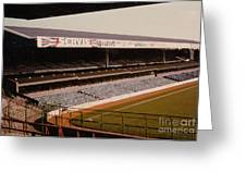 West Bromwich Albion - The Hawthorns - Rainbow Stand 1 - 1980s Greeting Card