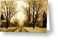 West Center  Greeting Card