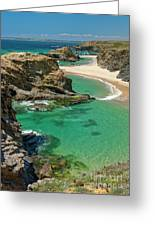 West Coast Portugal Greeting Card