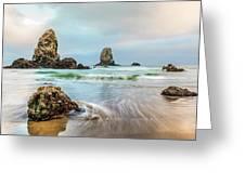 West Coast Usa Wonder Greeting Card