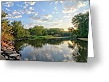 West Fork Bend Greeting Card