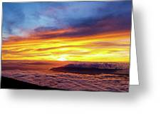 West Maui Sunset Greeting Card