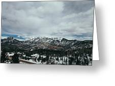 West Needle Mountain Greeting Card