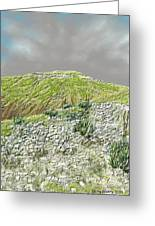 West Of The Hill Country Greeting Card