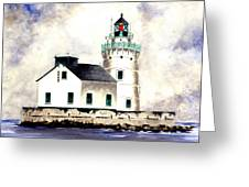 West Pierhead Lighthouse Greeting Card