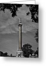 West Point Battle Monument Greeting Card