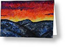 West Side Of Grand Teton Mountains Greeting Card