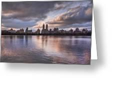 West Side Story Greeting Card by Evelina Kremsdorf