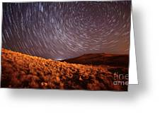 West Side Volcano Greeting Card