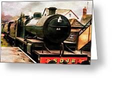 West Somerset Railways Train. Greeting Card