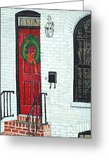 West Street Christmas Greeting Card