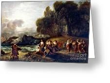 West: Telemachus Greeting Card