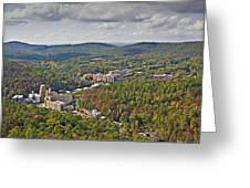 West View  Greeting Card
