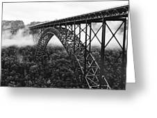 West Virginia - New River Gorge Bridge Greeting Card by Brendan Reals