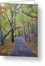 West Virginia Fall Scene Greeting Card