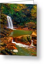 West Virginia Falls Greeting Card