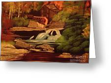 West Virginia Grist Mill Greeting Card