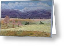 West Virginia Landscape             Greeting Card