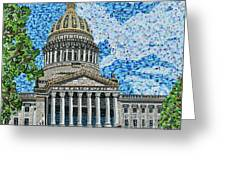 West Virginia State Capitol Greeting Card