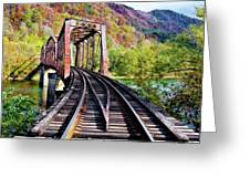 West Virginia Trestle Greeting Card