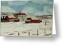 West Winfield Farm Greeting Card