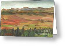 Westcliffe Valley I Greeting Card