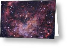 Westerlund 2 Star Cluster In Carina Greeting Card