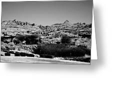 Western Arizona Mountains Greeting Card