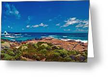 Western Australia Beach Panorama Greeting Card