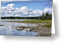 Western Bay - Oldhouse Cove Near Trenton Maine Greeting Card