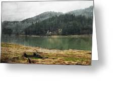 Western Cascades River Greeting Card