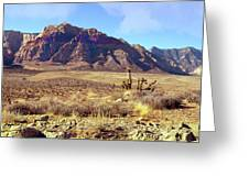 Western Desolation Greeting Card