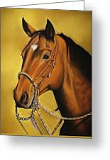 Western Horse Greeting Card
