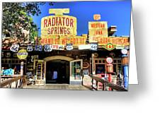 Western Junk Shop California Adventure  Greeting Card