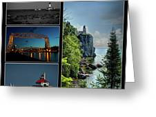 Western Lake Superior Greeting Card