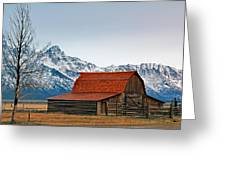 Western Living 2 Greeting Card
