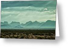 Western Mountains Greeting Card