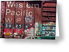 Western Pacific Greeting Card