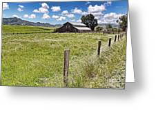 Western Ranch Greeting Card