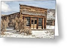 Western Saloon Greeting Card