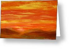 Western Skies Greeting Card