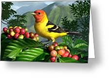 Western Tanager Greeting Card by Jerry LoFaro