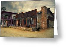 Western Town - Paramount Ranch Greeting Card