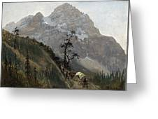 Western Trail Greeting Card