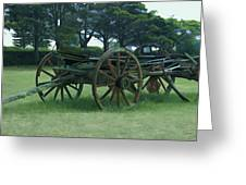 Western Wagon Greeting Card