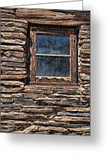 Western Window Greeting Card