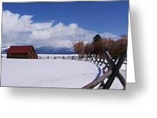 Western Winter Greeting Card