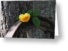 Western Yellow Rose II Greeting Card